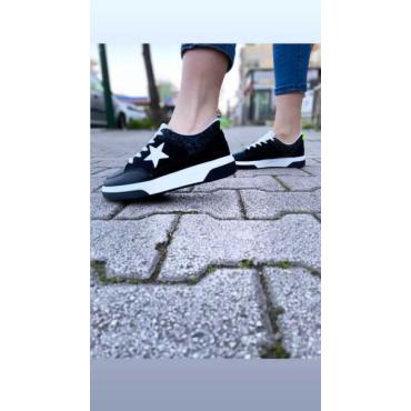 Sneakers Donna   Con Stella E Strass