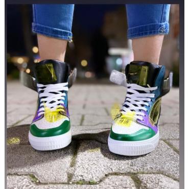 Sneaker Donna Collo Alto