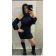 Vestito Donna Con Capuccio