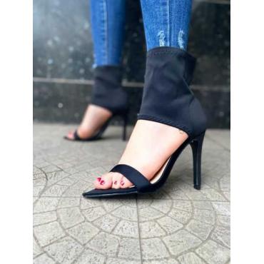 Sandalo A Calzino In Licra