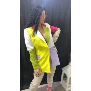 Giacca Donna Multicolor