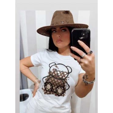 T-Shirt Donna Con Taddy Lvt