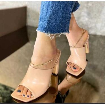 Sandalo Donna Con Catena
