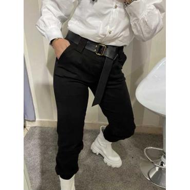 Pantalone Jeans Con Cintura