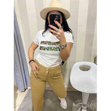 Jeans Caramella Slim Elastico