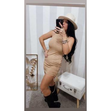 Vestito Donna Slim Con  Lacci