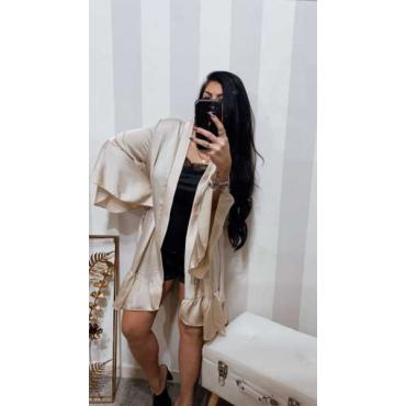 Kimono Tinta Unica Manica Larga