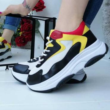 Sneakers Modello Balenciaga Tricolore New Primavera/Estate 2019
