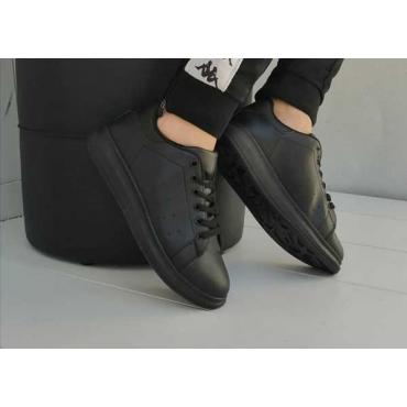 Sneakers Nera Bianca  Modello Mcqueen  Comodissima New 2019
