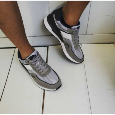 Sneakers Uomo Grigia New Collcetion 2019