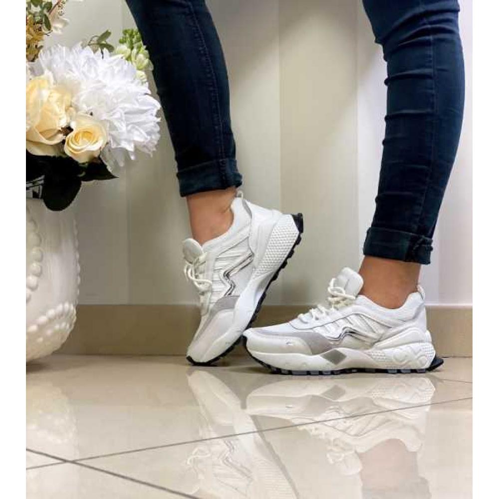Sneakers Donna Con Fondo Nuovo Super Comoda
