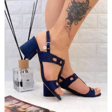 Sandalo Basso Con Doppia Fibbia E Vinturino Alla Cavigli