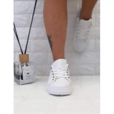 Sneakers Donna Bassa Colorata  Silver