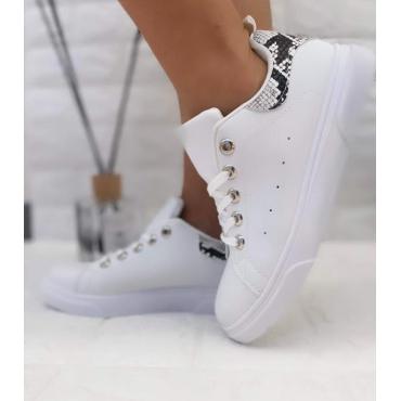 Sneakers Donna Bassa Colorata Snake