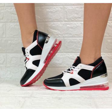 Sneakers Donna Tela E Fondo Soft