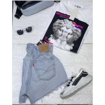 Levis Short Rigenerato A Caramella  Jeans