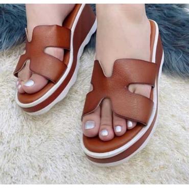 Sandalo Donna Zeppa  Fascia