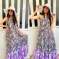 Vestito Donna Lungo Multicolor