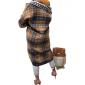 Cappotto Donna In Flanella